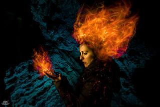Dark Phoenix (Light Painting effects)   by Frodo DKL