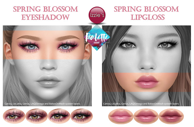 Spring Blossom Eyeshadow & Lipgloss (Palette Event)