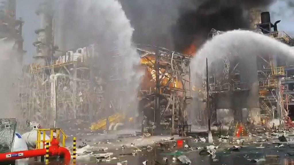 4月7日下午2點04分,雲林麥寮六輕的台化芳香烴三廠,液化石油氣管線洩漏,引發火災。\