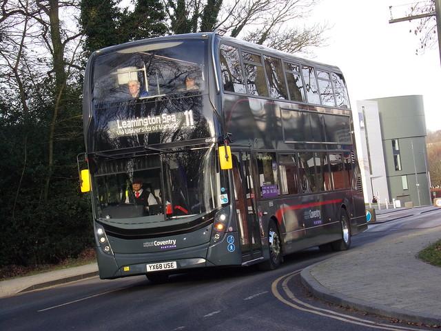National Express Coventry ADL Enviro 400 MMC (ADL E40D) 6955 YX68 USE