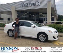 #HappyBirthday to Ladonna from Cindy Crosby at Hixson Toyota of Leesville!