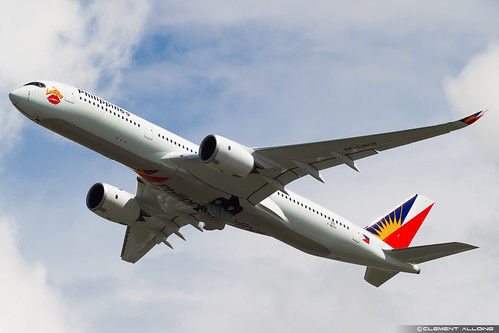 Philippine Airlines Airbus A350-941 cn 303 F-WZHI // RP-C3508 | by Clément Alloing - CAphotography