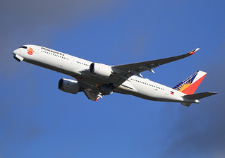 """F-WZNA Airbus A350 Philippines Airlines """"The Love Bus"""" 