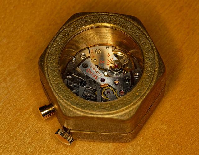 Classic Seiko watch modified