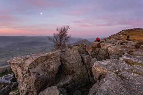 panorama walk llangollen sunrise pink cymru north wales sony a7rii