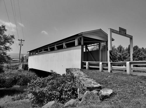 ryot covered bridge transportation scenic scenery landscapes old historical landmark bedford county pa pennsylvania georgeneat patriotportraits neatroadtrips blackwhite blackandwhite bw outside