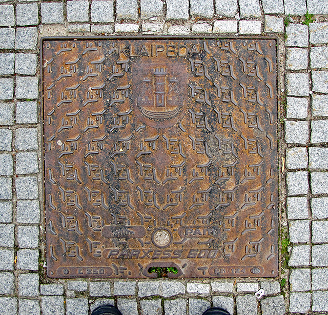photo - Klaipeda Manhole Cover 2