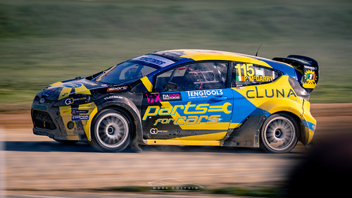 #115 Ford Fiesta of Peter McGarry - Round 1 British Rallycross Championship 2019 | by Xtra Photographic
