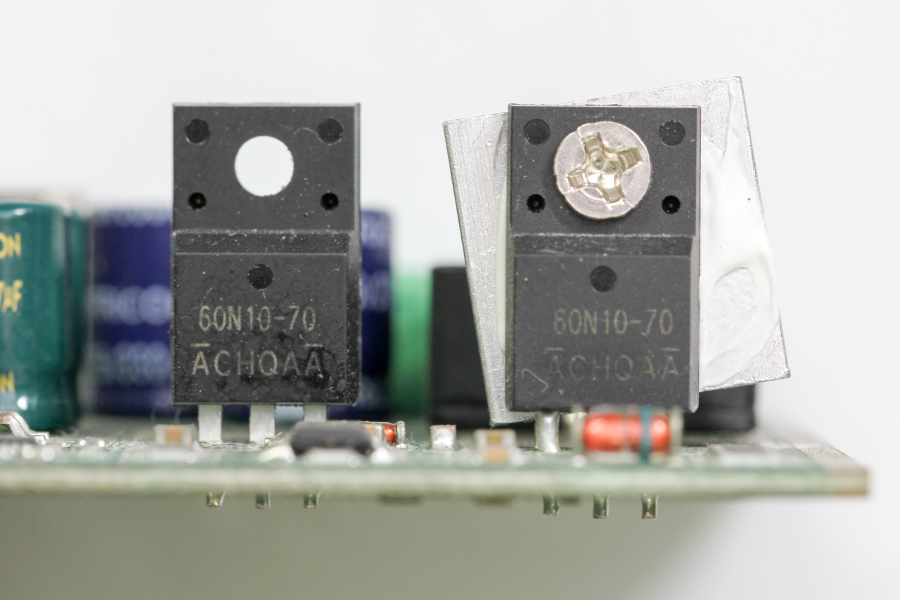 MOSFETs used
