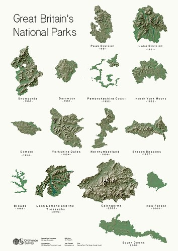 Great Britain's National Parks | by Ordnance Survey
