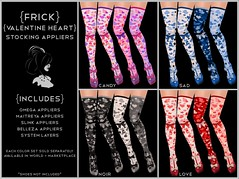 {Frick} Valentine's Day Heart Stocking Appliers