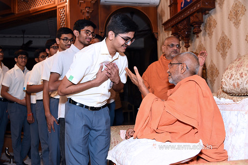 Std-10-11-12-visit-to-Haridham-for-Swamishree's-Blessings-(76) | by Atmiya Vidya Mandir