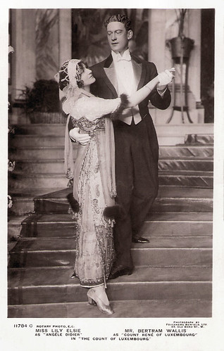 Bertram Wallis and Lily Elsie in The Count of Luxembourg