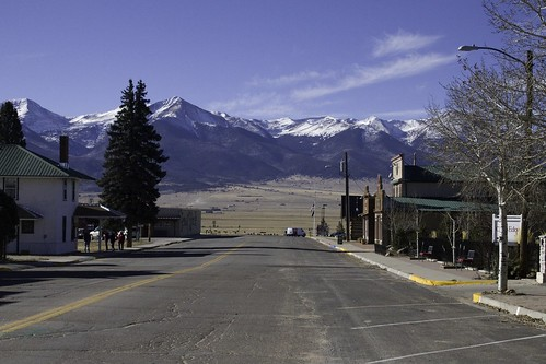 westcliffe landscapes mountains colorado street