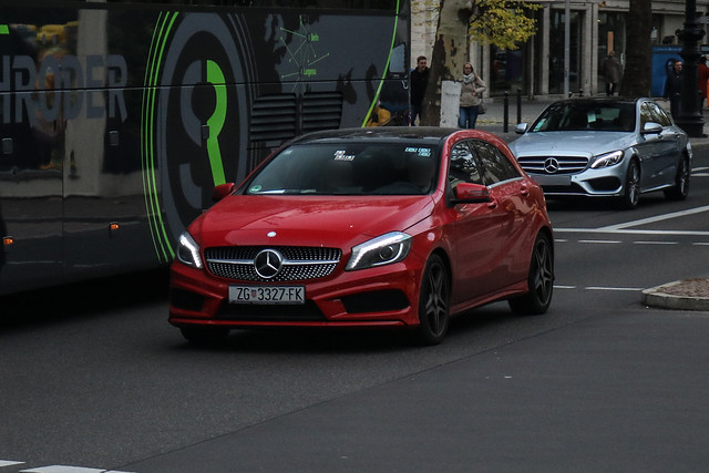 Croatia (Zagreb) - Mercedes-Benz A-Class W176