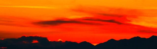 red skyline