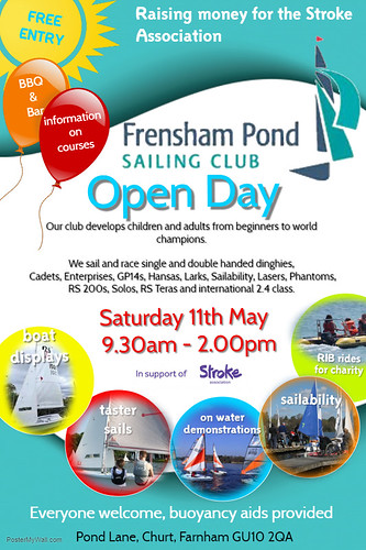 FPSC open day poster 2019 -