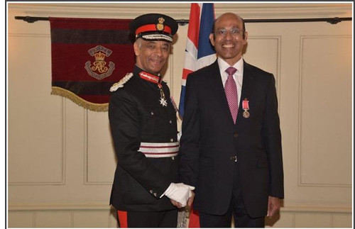Walter Da Costa receives the British Empire Medal | by Miramar2011