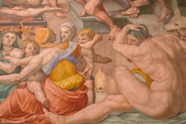 Complesso di San Lorenzo: Martirio di san Lorenzo di Agnolo Bronzino