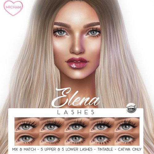 Elena Lashes @ Skin Fair 2019