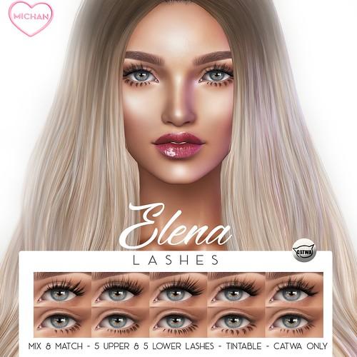 Elena Lashes @ Skin Fair 2019