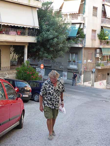 grimpette dans Exarchia