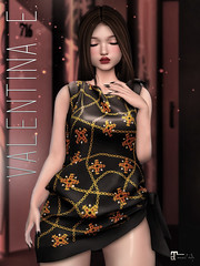 NEW! Valentina E. Hera Scarf Dress @ FaMESHed!