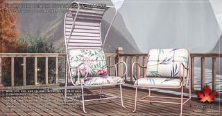Trompe Loeil - Leander Beach Cottages & Chairs for Collabor88 April | by TrompeLoeilSL