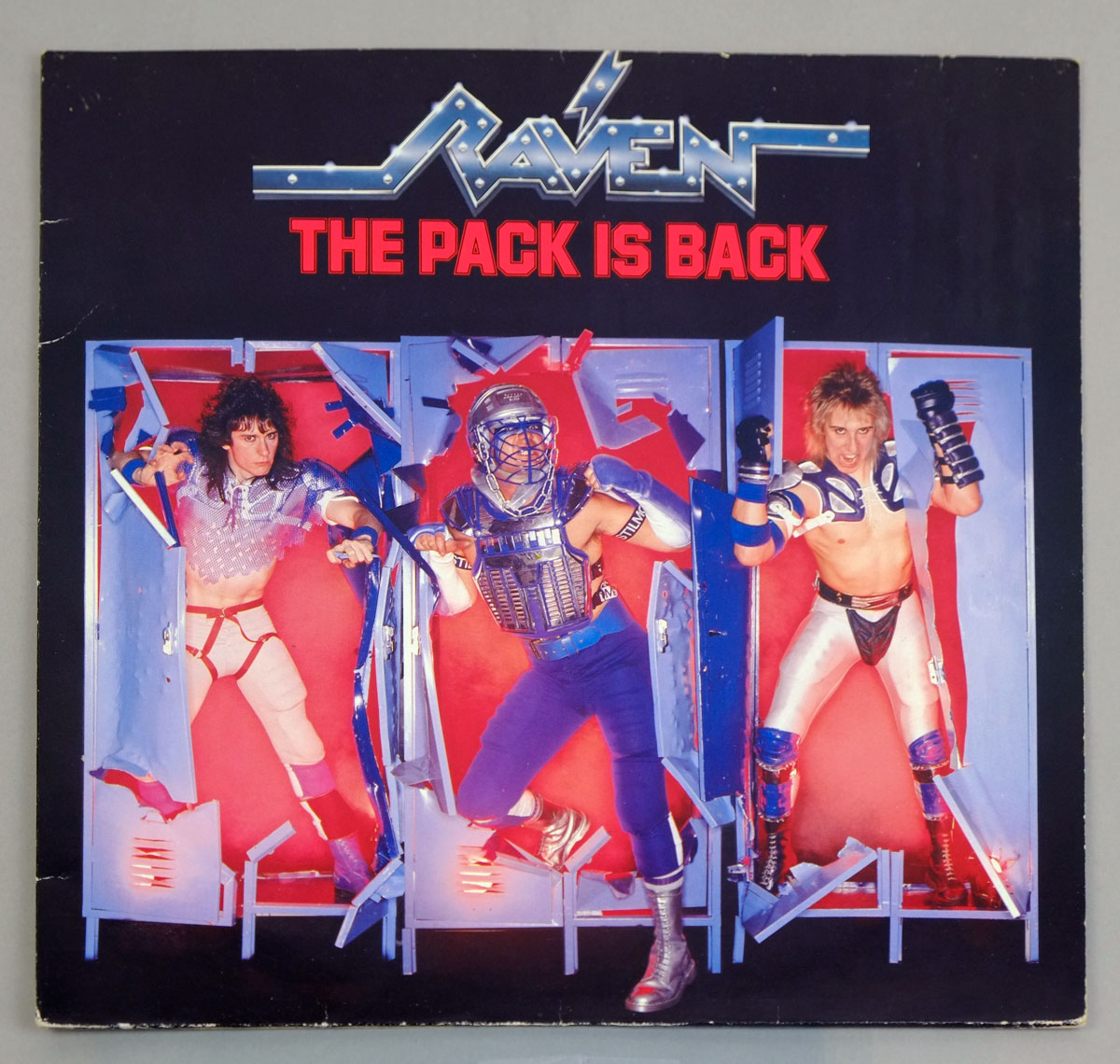 "RAVEN THE PACK IS BACK 12"" LP VINYL"