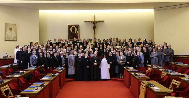 Zebranie Plenarne Konferencji Wyższych Przełożonych Żeńskich Zgromadzeń Zakonnych - 9 IV 2019 r.