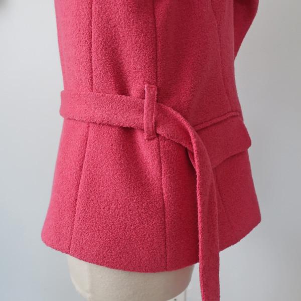 Pink jacket belt carrier