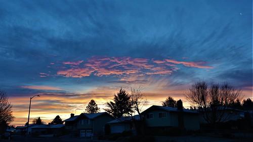 portland oregon sunrise