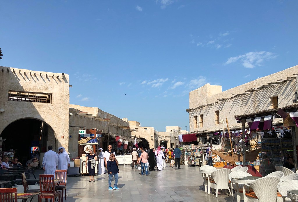 Qatar (Doha) Souq Waqif is the the oldest labyrinth bazaar… | Flickr