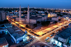 Evening in Nouakchott, Mauritania