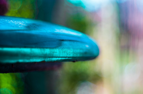 Glass insulator abstract | by Rense Haveman