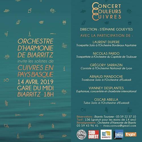 Cuivres en Pays Basque - Harmonie de Biarritz