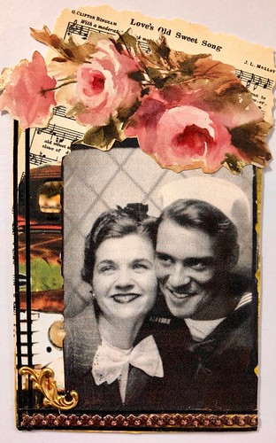 Vintage Photo and Music ATC | by Donetta's Beaded Treasures