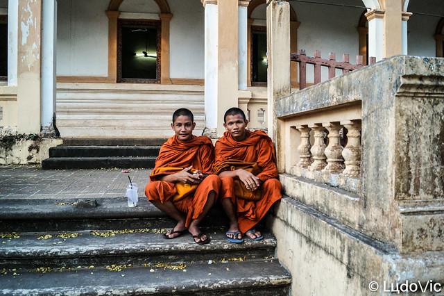 2 Young Monk at Wat Bo