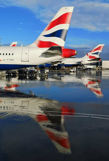 With BA getting retro jets even the sun is reflecting on the past 100 years