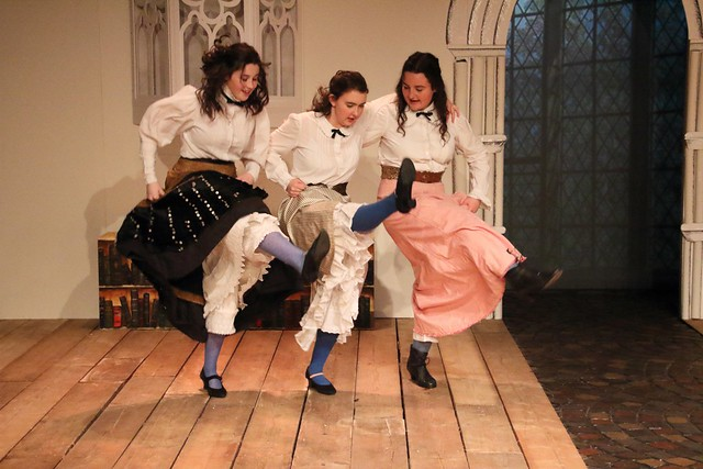 Blue Stockings in Performance