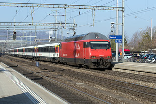 SBB Re 460 077 Liestal | by daveymills37886