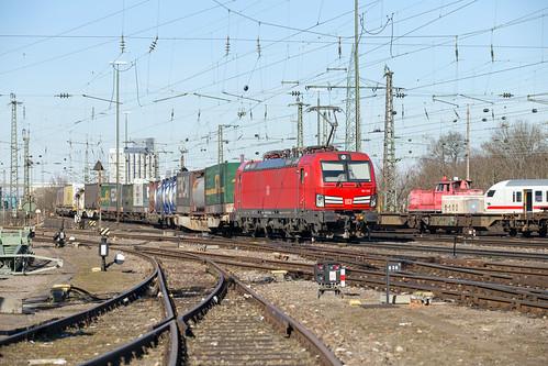 DB Cargo 193 342 Basel Bad | by daveymills37886
