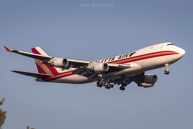 Boeing 747-481F N402KZ Kalitta Air