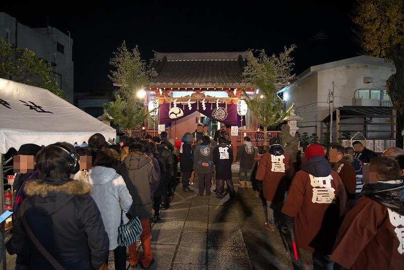 原稲荷神社で初詣