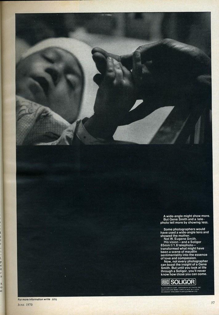 Soligor - W  Eugene Smith 1970 | Nesster | Flickr