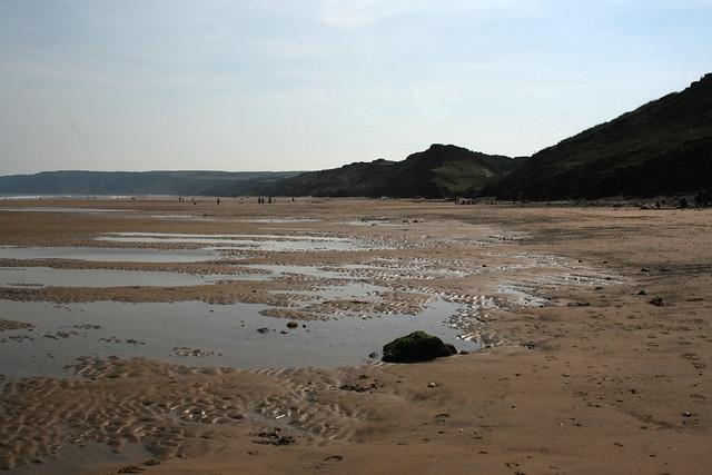 The beach near Reighton