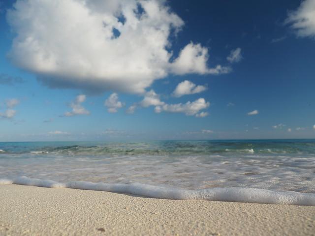 Caribbean Sand Beach Playa Esmeralda Cuba Oriente Guardalavaca © Karibik Sandstrand Strand Ost-Kuba Große Antillen ©