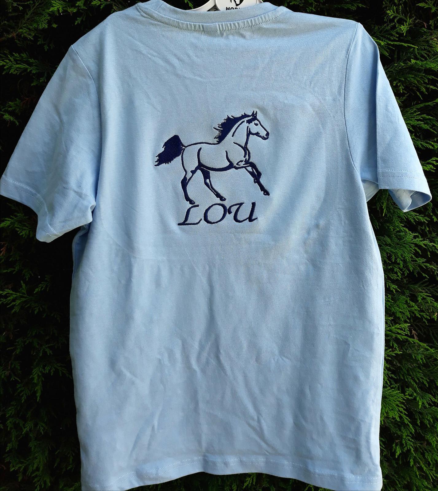 Tee shirt Cheval personnalisé