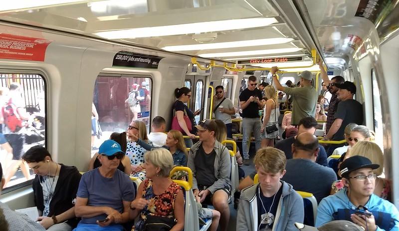 Sandringham line, Saturday lunchtime
