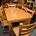 Very solid hardwood kitchen table and chair set E320